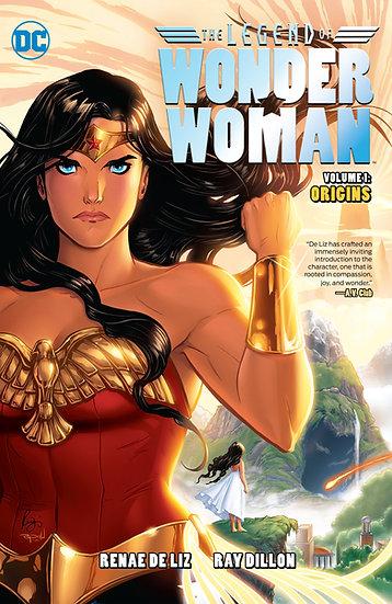 The Legend of Wonder Woman Origins Vol 1