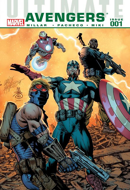 Ultimate Avengers Issue 1