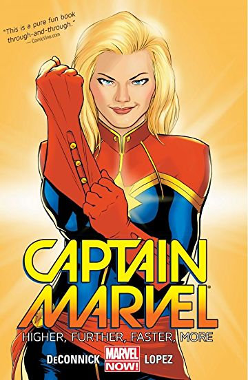 Captain Marvel Vol 1 Higher Further Faster More