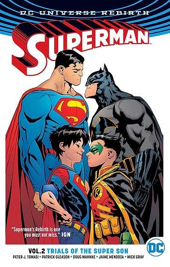 "Superman Vol 2 Trial of the Super Sons ""Rebirth"""