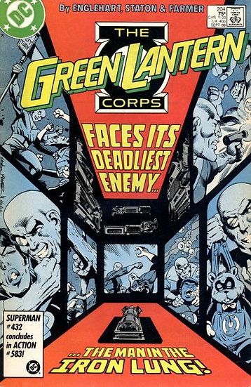 Green Lantern #204 1986