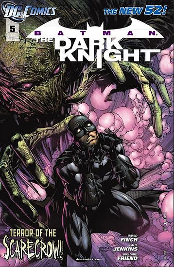 "Batman - The Dark Knight #5 ""Terror of the Scarecrow"""