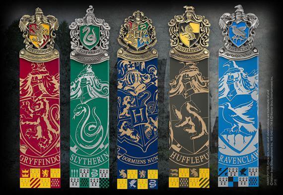 Harry Potter - Crest Bookmarks Set
