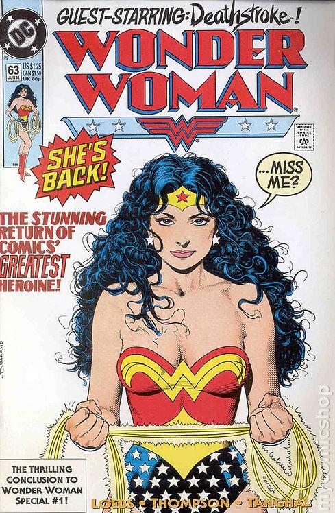 Wonder Woman #63 - 1992