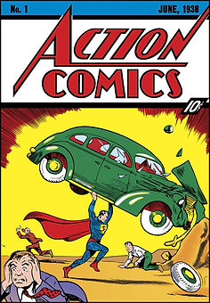 Action Comics #1 1938.jfif