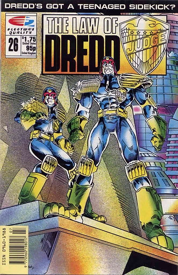 Judge Dredd - The Law of Judge Dredd #26