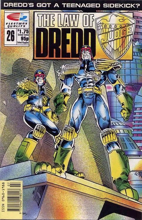 Judge Dredd - The Law of Judge Dredd #26