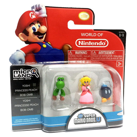 "Yoshi, Princess Peach  Bob-omb ""Micro-land Pack"""