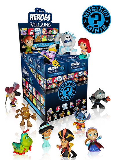 Disney Heroes vs Villains Blind Box