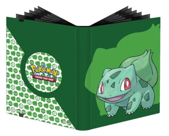 ULTRA PRO Pokémon – PRO Binder Full View 9PKT – Bulbasaur