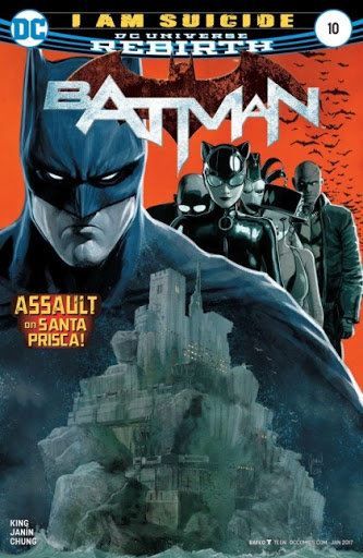 Batman Rebirth #10