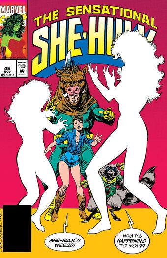 She-Hulk #45 - 1992