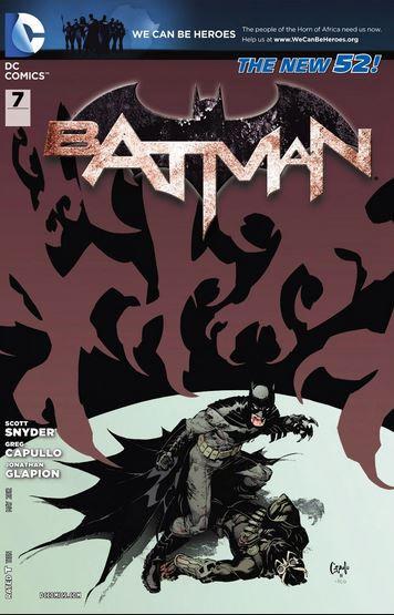 BATMAN #7 New 52 - First appearance of Harper Row