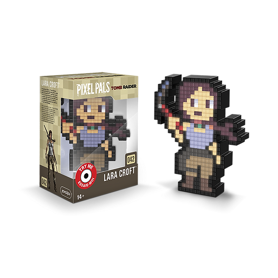 """Pixel Pals - Tomb Raider Lara Croft """"Reboot"""""""