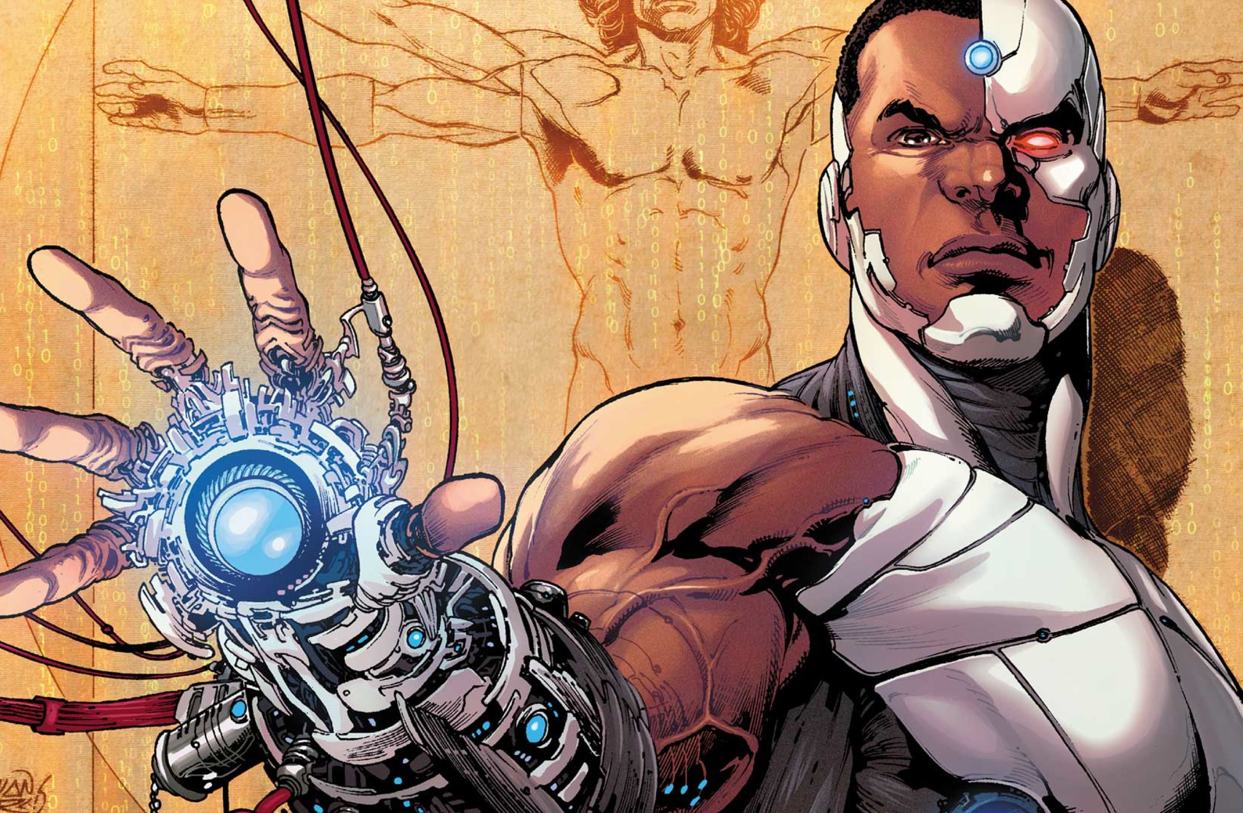 doom patrol comic cyborg