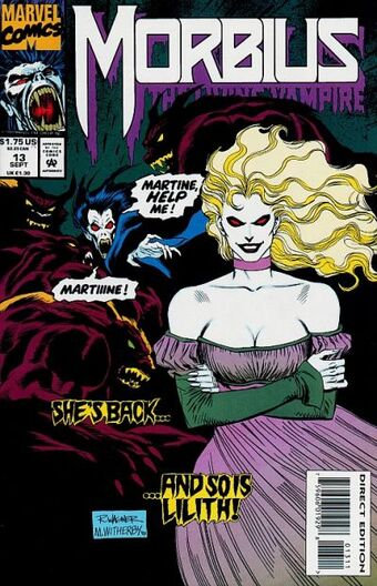 Morbius The Living Vampire #13