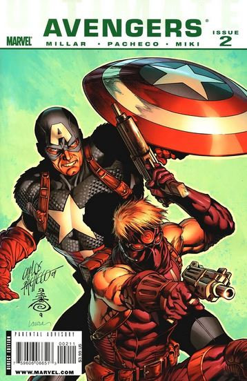 Ultimate Avengers Issue 2