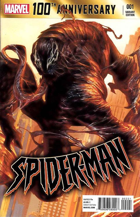 Spider-man #001 100th Anniversary Variant