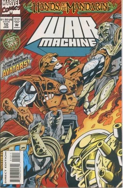"""War Machine """"Hands of the Mandarin"""" part 5 of 6"""