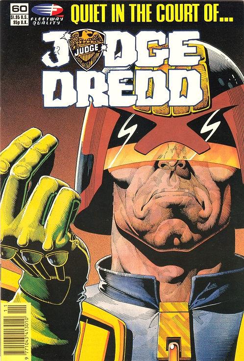 Judge Dredd #60