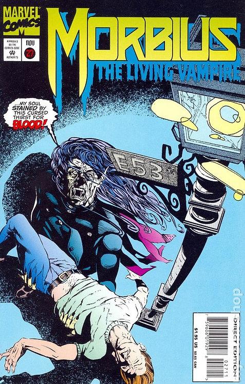 Morbius The Living Vampire #27