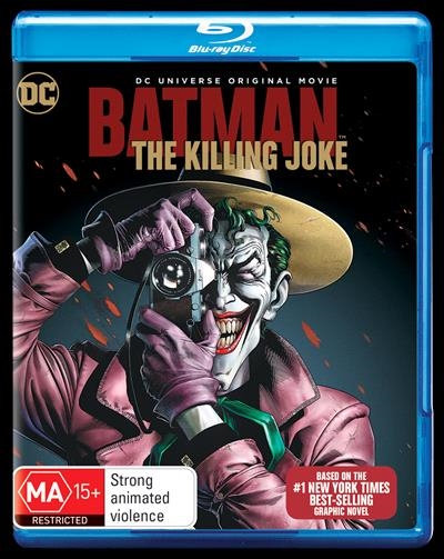 The Killing Joke Blu Ray DVD
