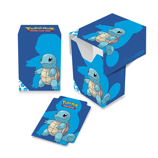 ULTRA PRO Pokémon – Full View Deck Box- Squirtle