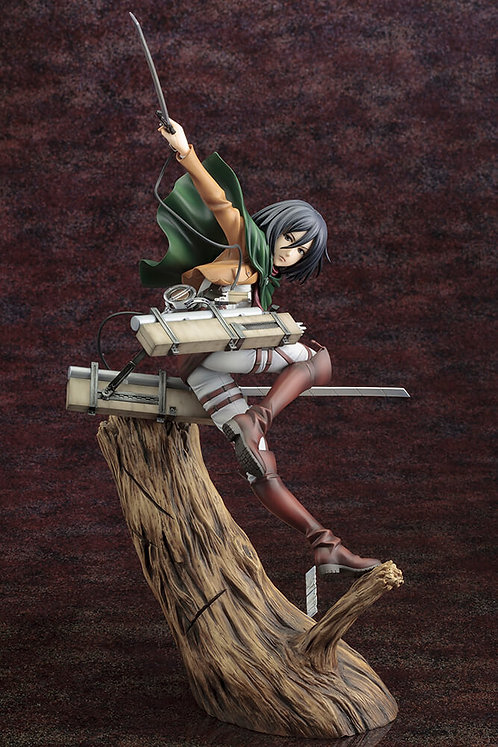 ATTACK ON TITAN Mikasa Ackerman Renewal Package Ver. ArtFX J Statue