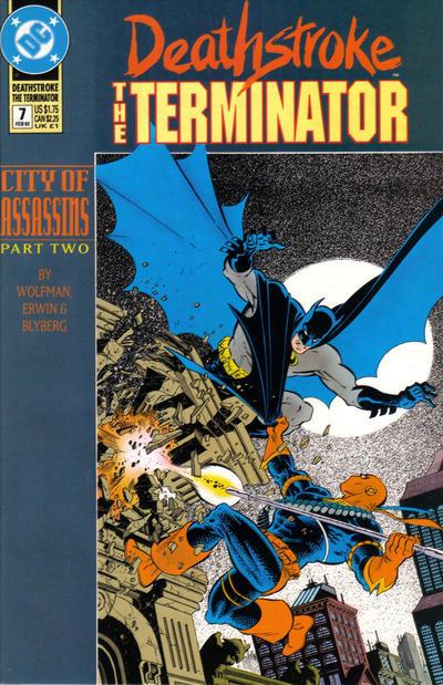 Deathstroke The Terminator #7 1992