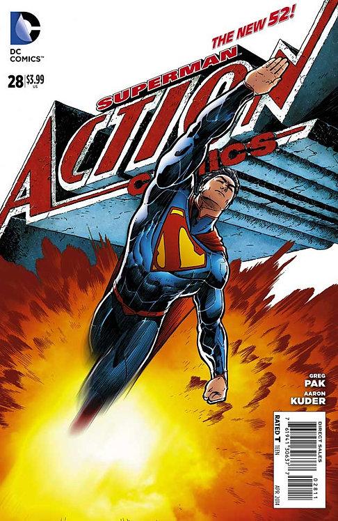 Action Comics Superman #33