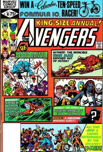 Avengers Annual #10 - first appearance of Rogue (1980)
