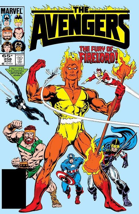 The Avengers #258 1985