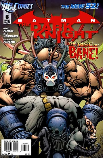 "Batman - The Dark Knight #6 ""the rise of Bane!"""