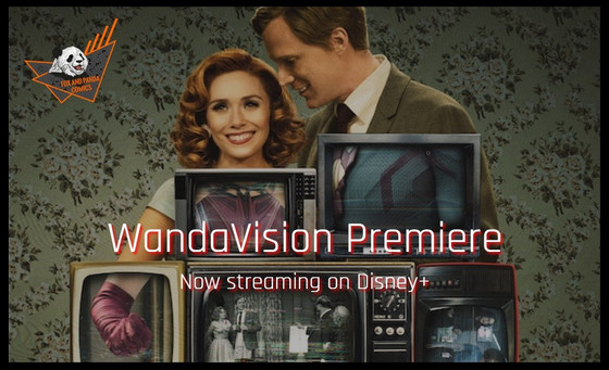 WandaVision Premiere just launched on Disney+ Streaming Now!