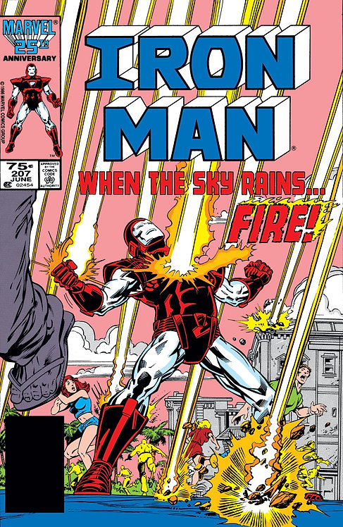 Iron Man #207 - 1986