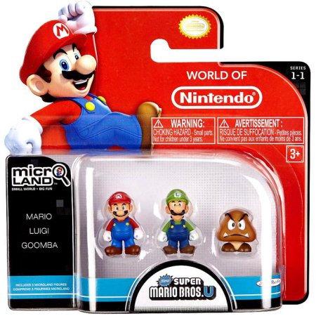 Mario,Luigi & Goomba Micro-land pack