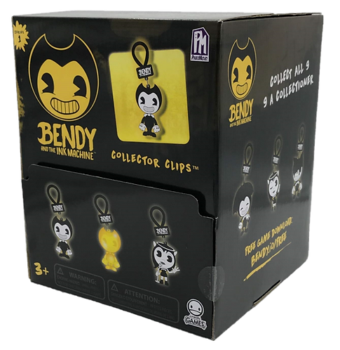 """BENDY AND THE INK MACHINE 2.5"""" Collector Clips"""