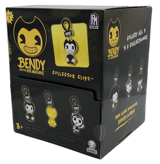"BENDY AND THE INK MACHINE 2.5"" Collector Clips"
