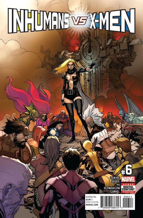 Inhumans vs X-men #06