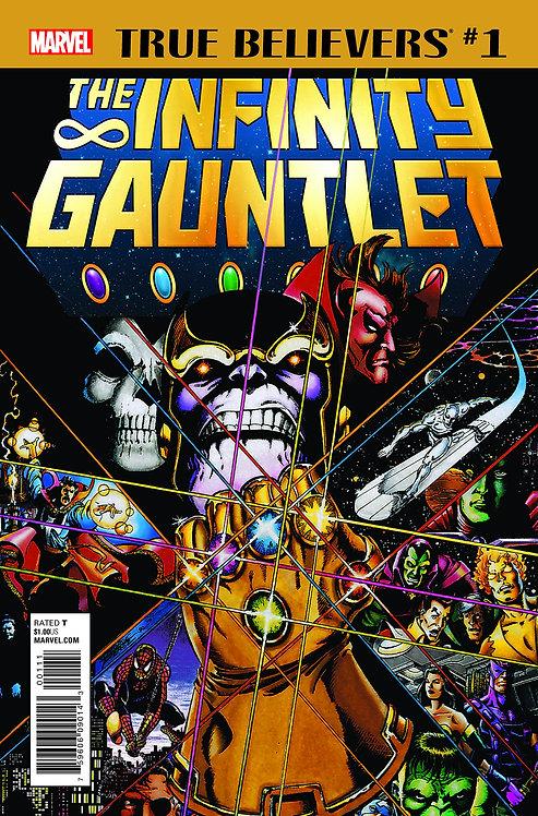 True Believers Infinity Gauntlet #1