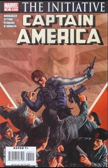 Captain America - the initiative #30