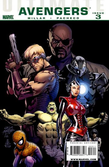 Ultimate Avengers Issue 3