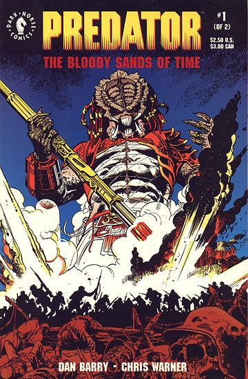 Predator - The Bloody Sands of Time #1