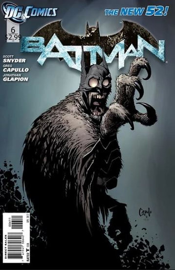 BATMAN #6 New 52 First Appearance of the Court of Owls