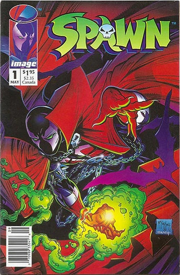 Spawn #1 1992 First Appearance of Spawn