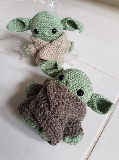Baby Yoda: Custom Crochet Plush