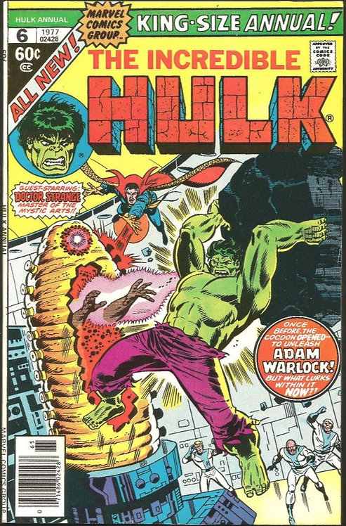 The Incredible Hulk #6 1977 First appearance of Poragon