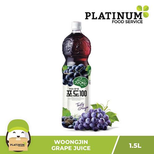 Woongjin Grape Juice 1.5L