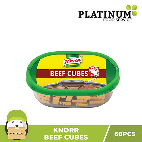 Knorr Beef Cubes 600g