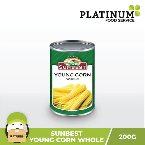 Sunbest Young Corn 425g